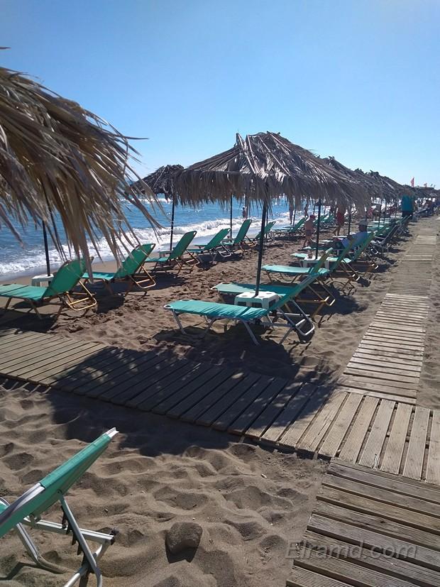 Пляж, где мы купались в Амударе