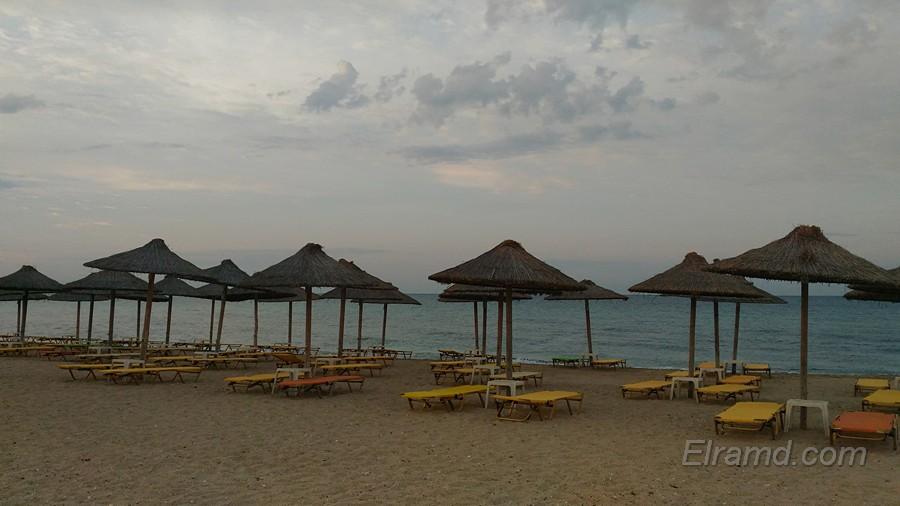 Пляж Паралии Портарьяс
