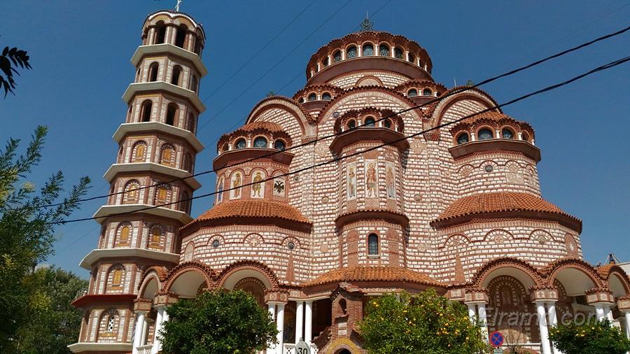 Храм Св. Георгия, Неа Муданья
