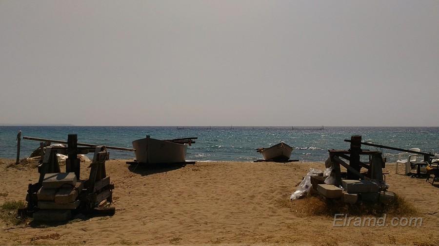 Рыбачьи лодки в Мурьес