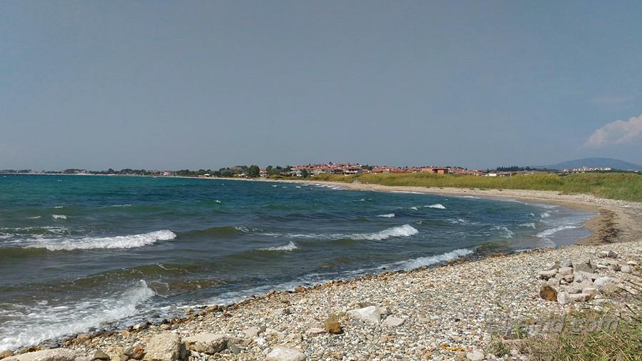 Пляж между Мурьес и Флогитой