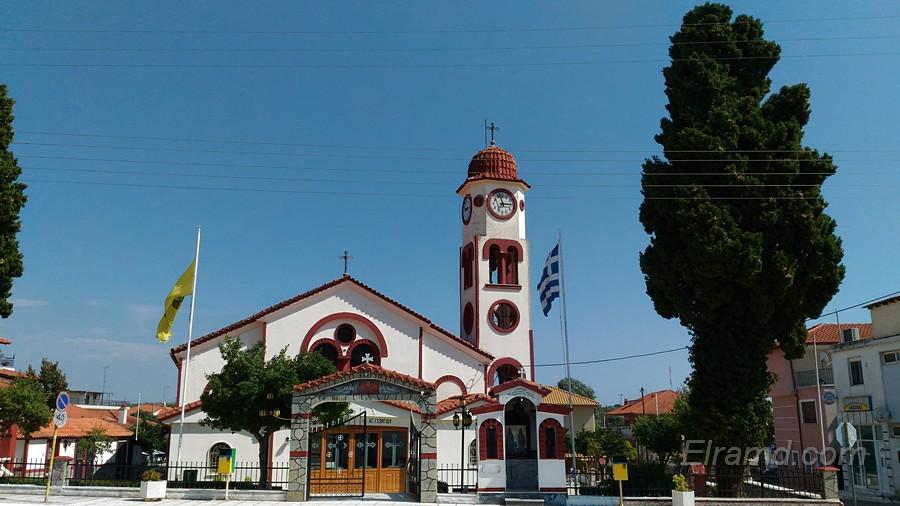 Церковь в Неа Плагия