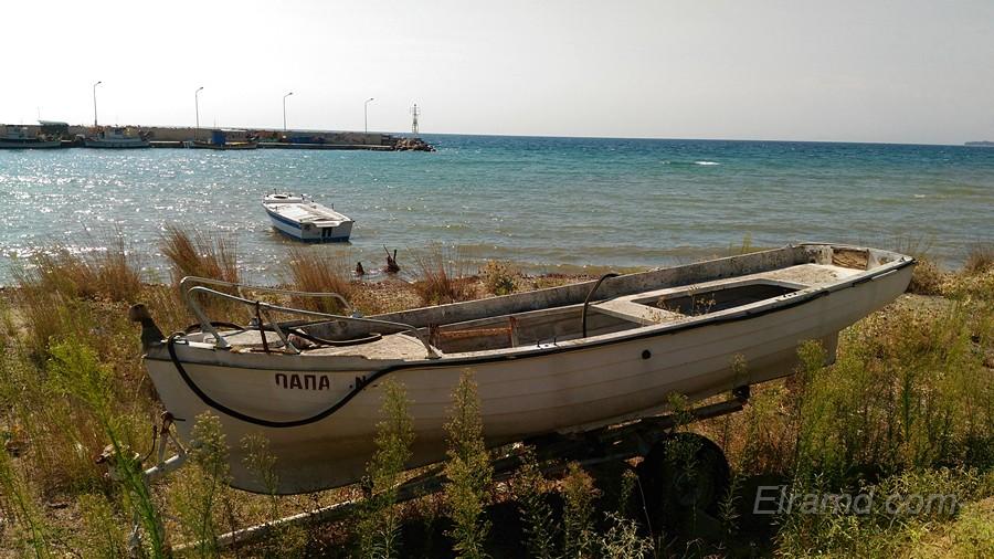 Лодки у пристани