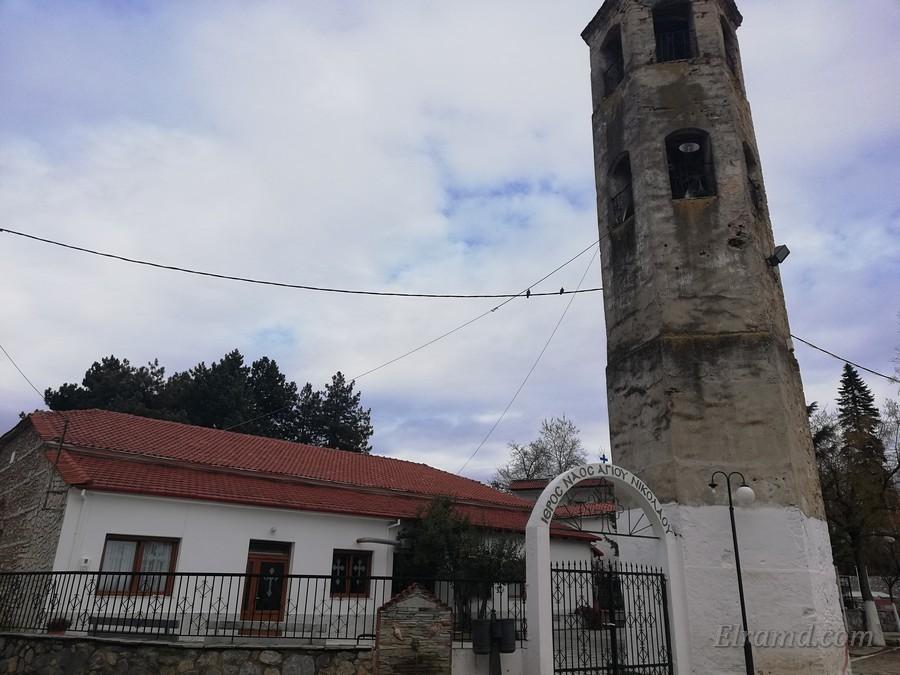 Храм Св. Николая, Архангелос