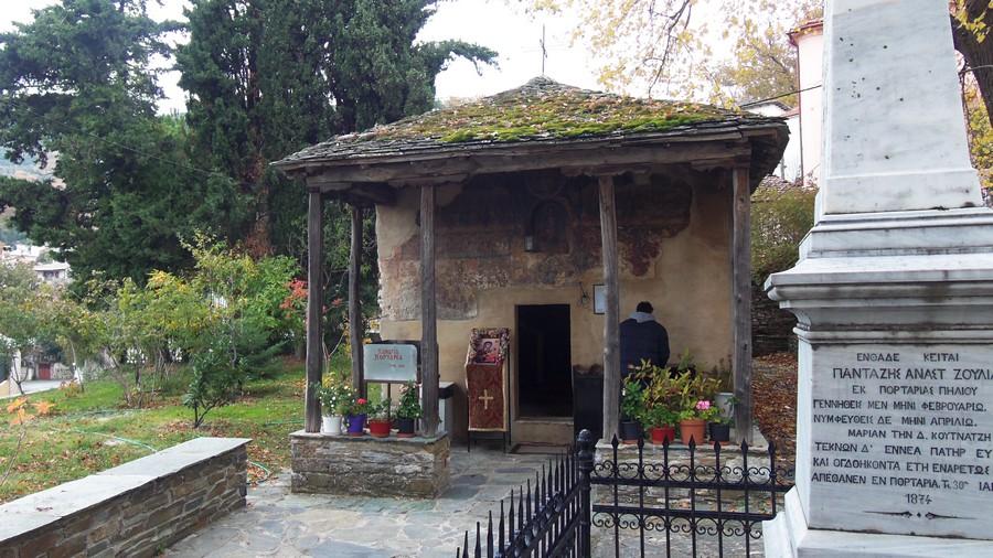 Перед входом в храм