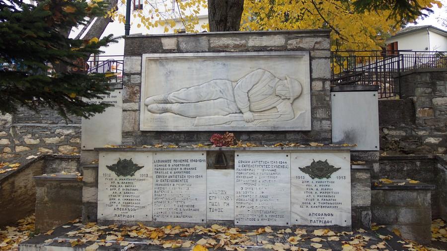 Памятник павшим в годы войны героям Портарьи