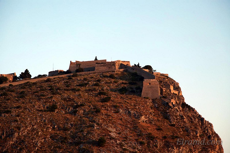 Крепость Паламиди в Нафплио