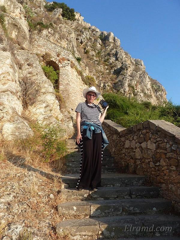 В крепости Паламиди