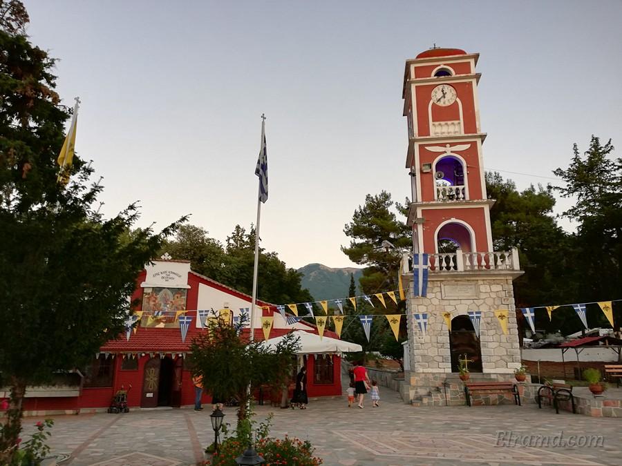Храм Успения Богородицы и колокольня