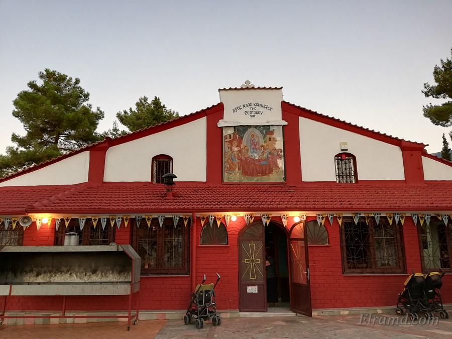 Храм Успения Богородицы, Родоливос