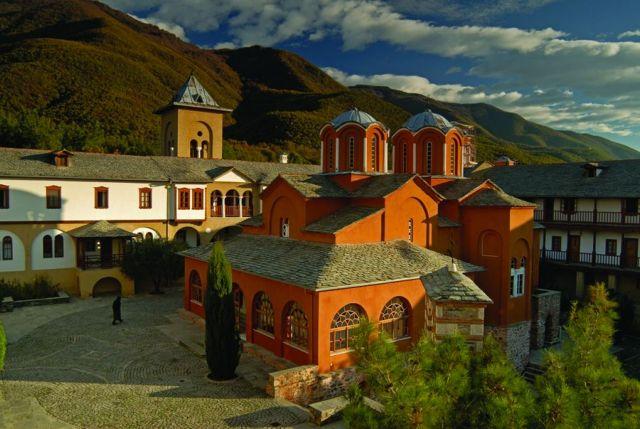 Старый храм монастыря Иоанна Предтечи
