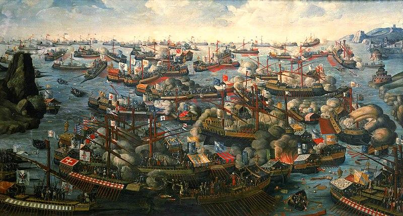 Морское сражение при Нафпактосе, 1571