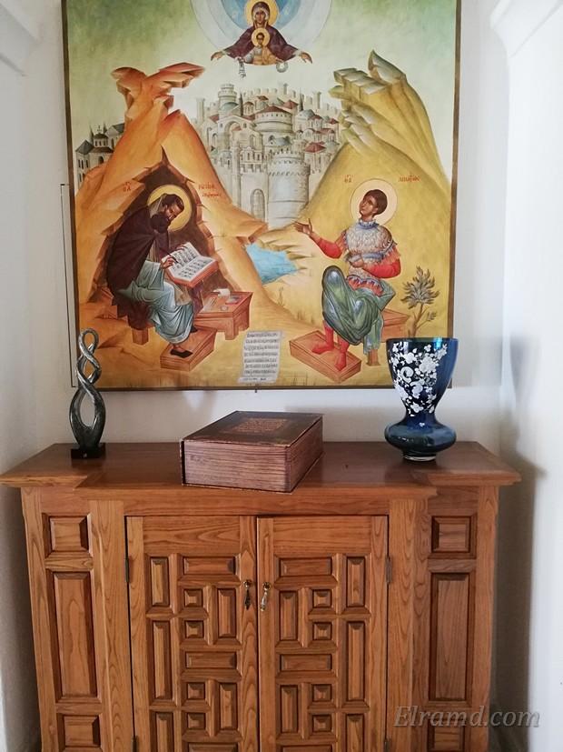 Икона в холле архондарики