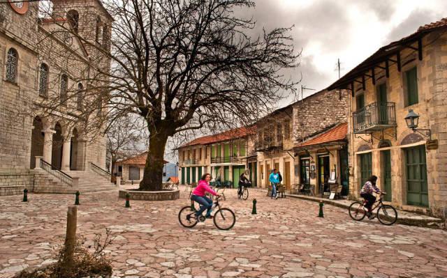 Нафпактос Старый город Стенопазаро