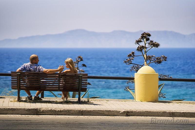 Фото на набережной Родоса