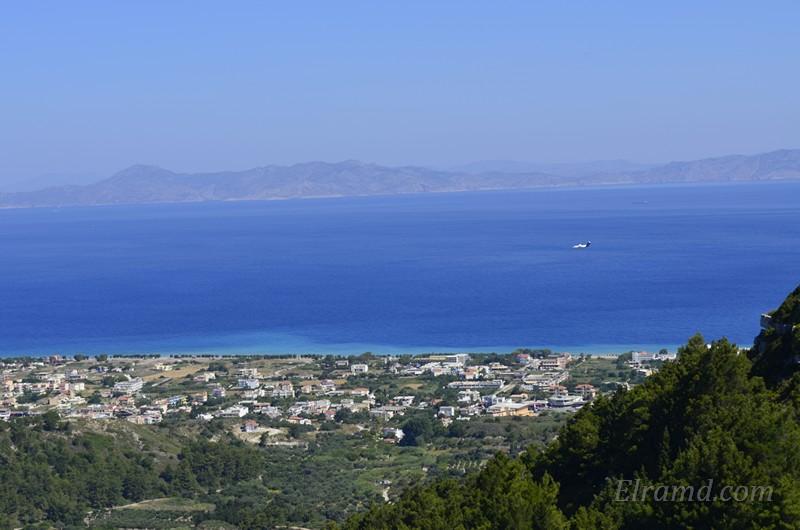 Виды на море Родоса