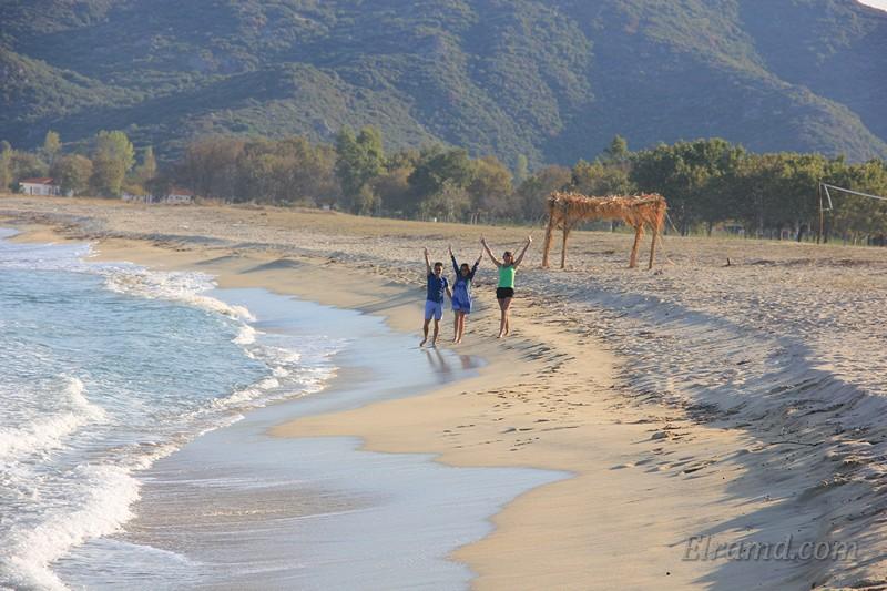На пляже Тристиника