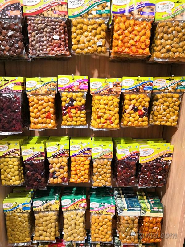 Расфасованные оливки