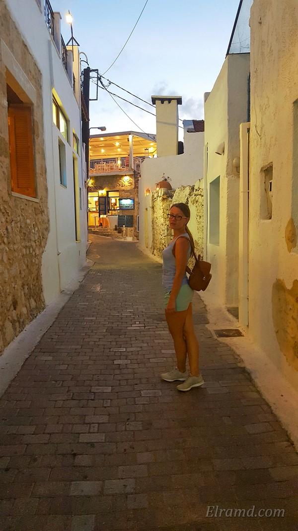 На улице в Ретимно