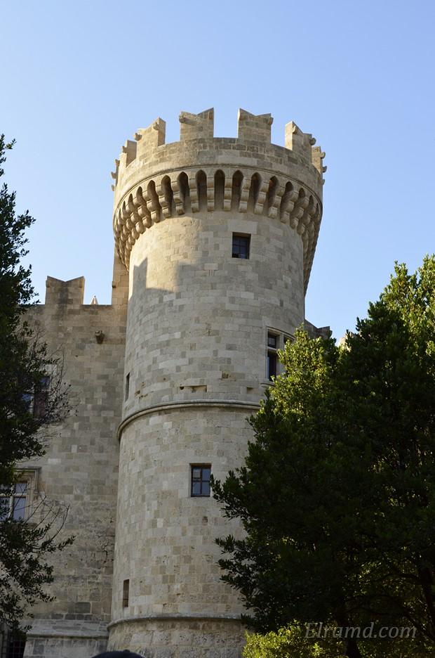 Башня замка Родоса