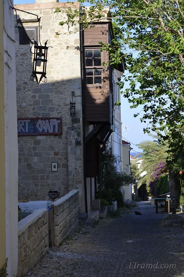 Старые улицы Родоса