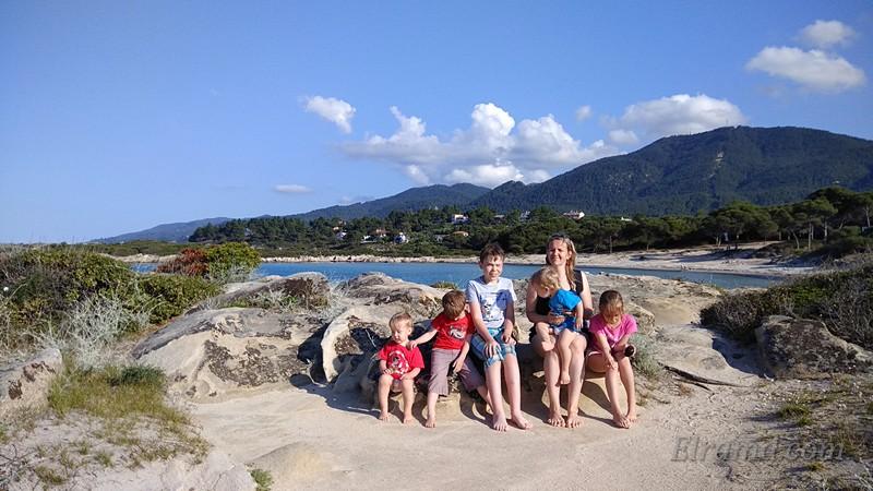 На одном из пляжей Ситонии