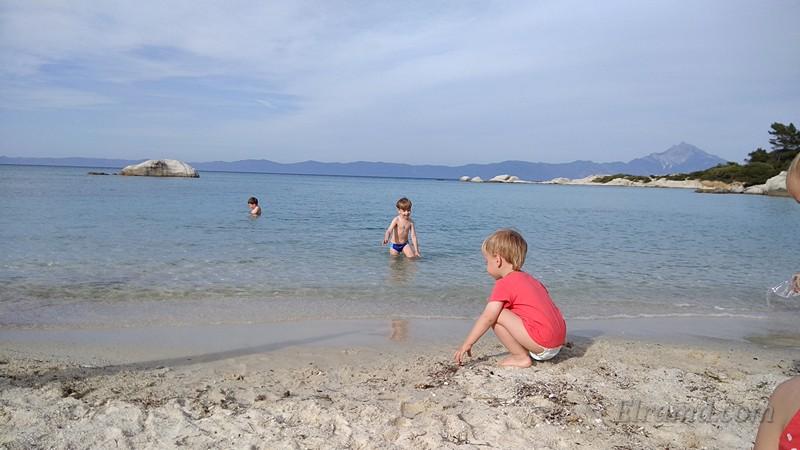 Мелкое Эгейское море