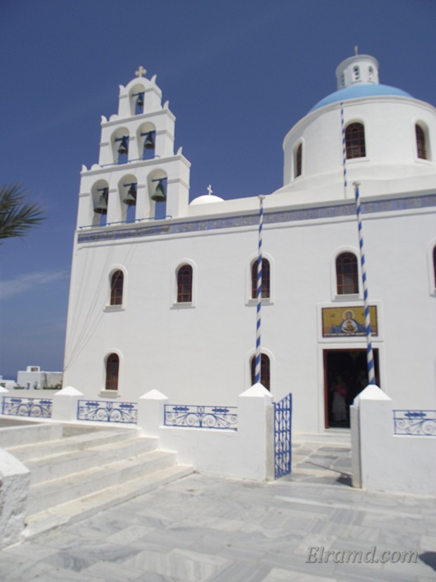 Церковь на Санторине