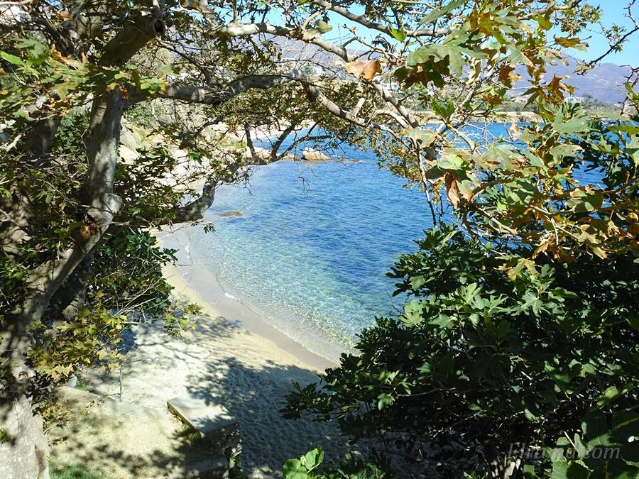 Один из пляжей Каристоса