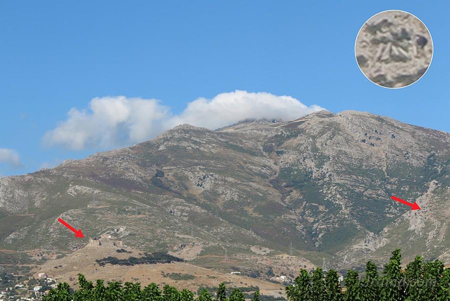 Гора Охи и крепость Кастелло Россо