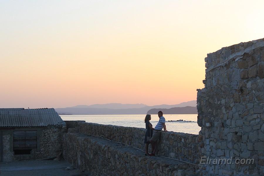 Закат на бастионе Св. Николая