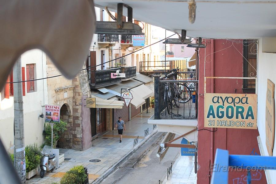 Вид с нашего балкона в отеле