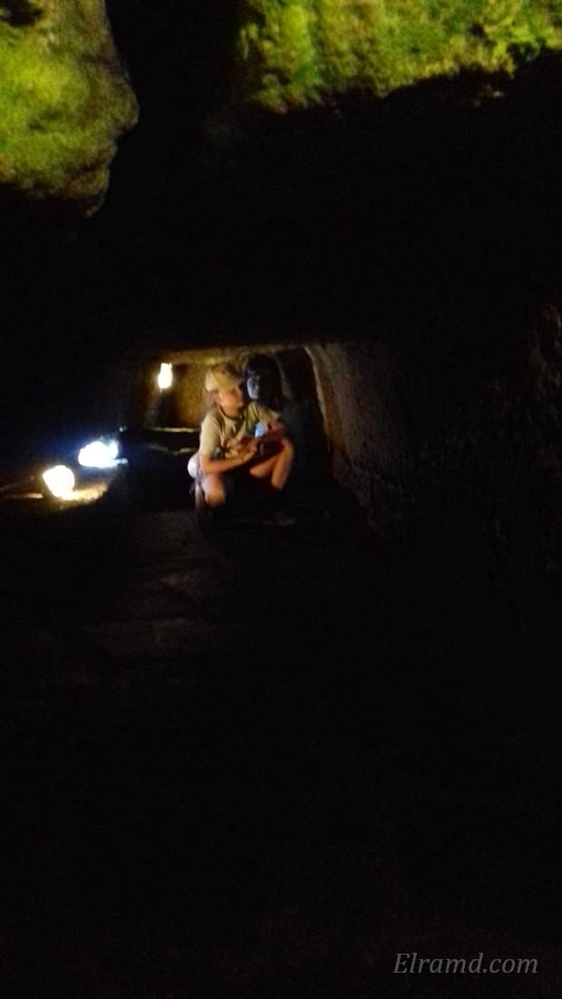 В пещерной часовне Апостола Павла