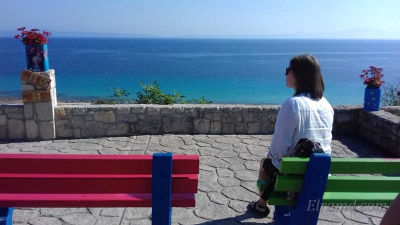Созерцание на набережной Афитоса