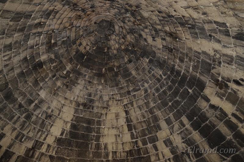 Крыша толоса в Микенах