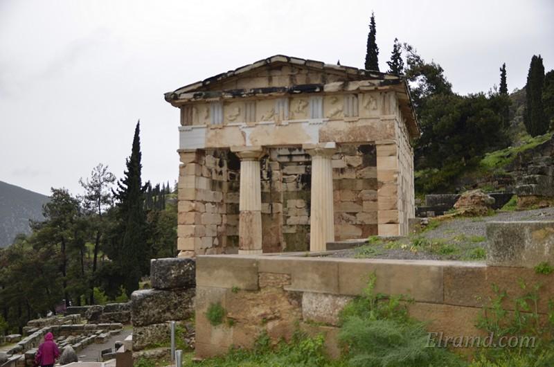 Сокровищница Афин 510-507 гг. до Р.Х