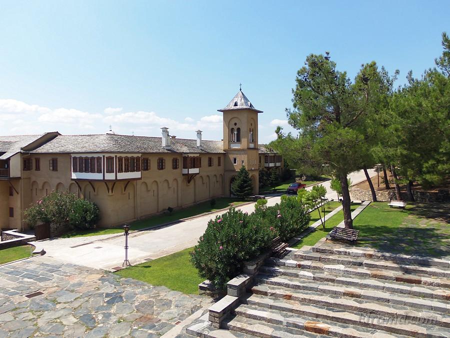 Старая часть монастыря