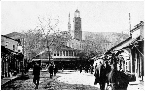 Центральная площадь Эдессы в 20-е годы