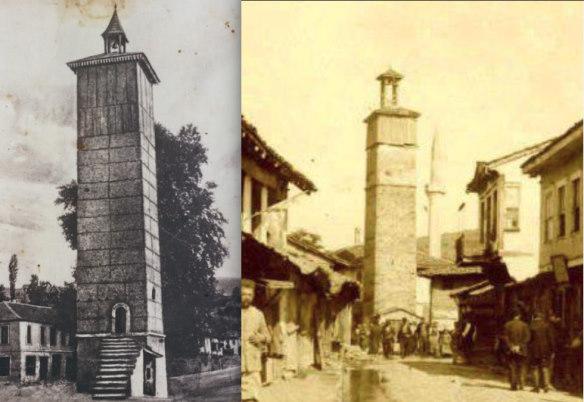 Часовые башни в Верии и Флорине