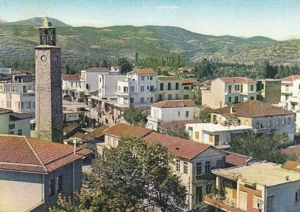 Часовая Башня Эдессы в 60-х годах 20-го века