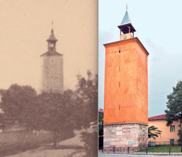 Часовая башня в Янница