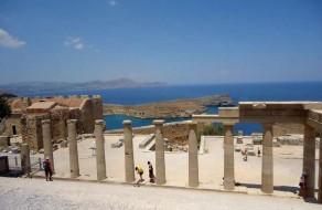 На Акрополе Линдоса