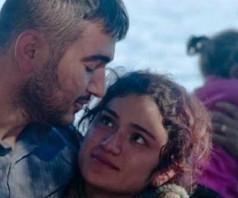 Беженцы в Греции, как их встречают на Лесбосе