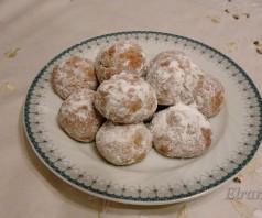 Елеосвящение и постное печенье курабье по-гречески