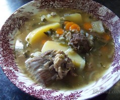 Греческий суп из козлятины — Гида врасти