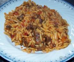 Бычьи хвосты в томатном соусе по-гречески с крифараки