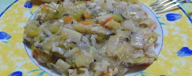 Как вкусно приготовить лук-порей, или порей с рисом (Прасоризо)