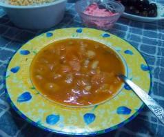 Греческий фасолевый суп Фасолада — 2 рецепта