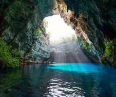 Пещерное озеро Мелиссани, Кефалония
