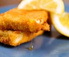 Кефалотири саганаки — жареный сыр по-гречески